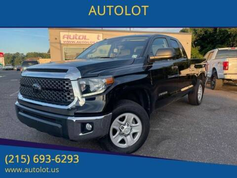2018 Toyota Tundra for sale at AUTOLOT in Bristol PA