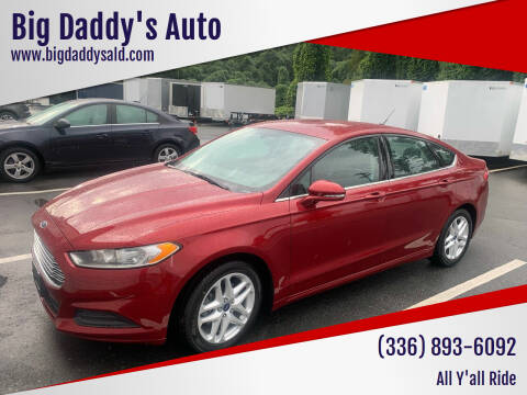 2015 Ford Fusion for sale at Big Daddy's Auto in Winston-Salem NC