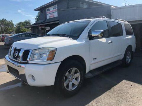 2007 Nissan Armada for sale at Wise Investments Auto Sales in Sellersburg IN