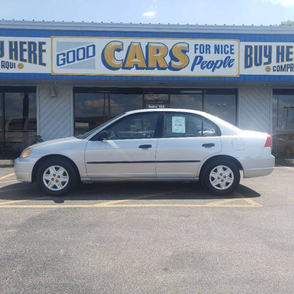 2003 Honda Civic for sale at Good Cars 4 Nice People in Omaha NE