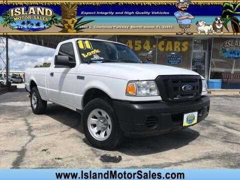 2011 Ford Ranger for sale at Island Motor Sales Inc. in Merritt Island FL