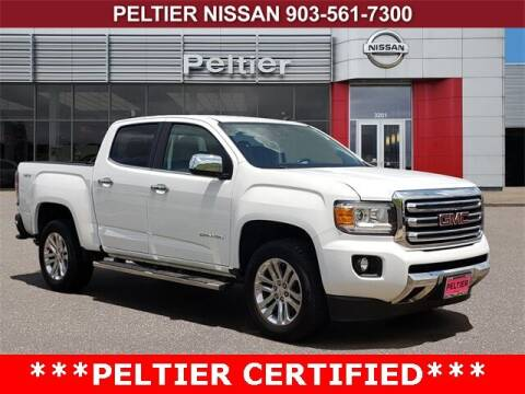 2017 GMC Canyon for sale at TEX TYLER Autos Cars Trucks SUV Sales in Tyler TX