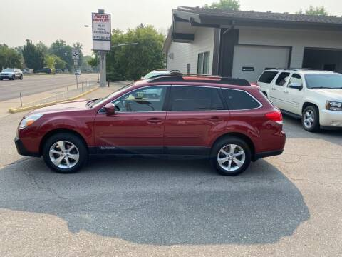 2013 Subaru Outback for sale at Auto Outlet in Billings MT