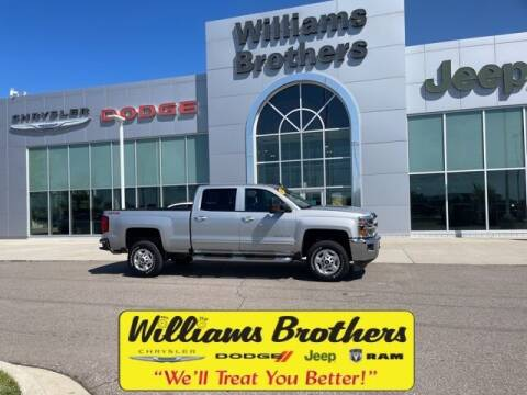 2019 Chevrolet Silverado 2500HD for sale at Williams Brothers - Pre-Owned Monroe in Monroe MI