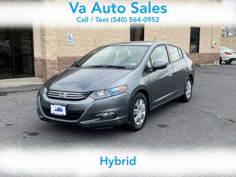 2010 Honda Insight for sale at Va Auto Sales in Harrisonburg VA
