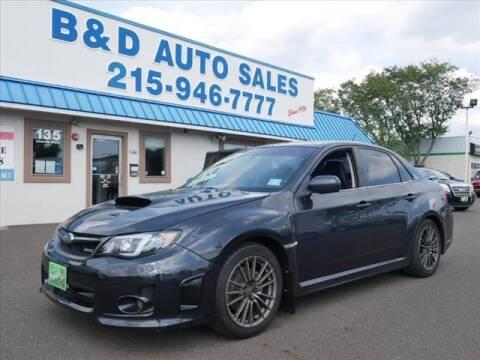 2013 Subaru Impreza for sale at B & D Auto Sales Inc. in Fairless Hills PA