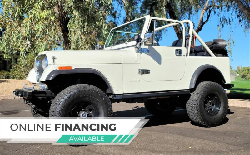 1985 Jeep CJ-7 for sale at Classic Car Addict in Mesa AZ