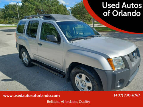 2008 Nissan Xterra for sale at Used Autos of Orlando in Orlando FL
