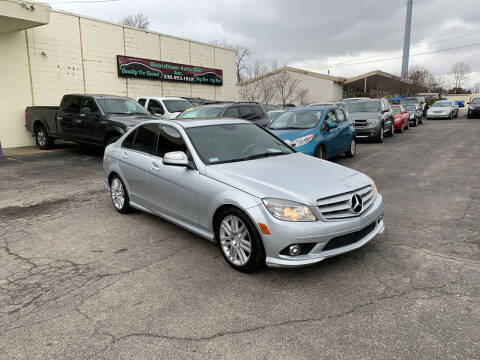 2009 Mercedes-Benz C-Class for sale at Boardman Auto Mall in Boardman OH