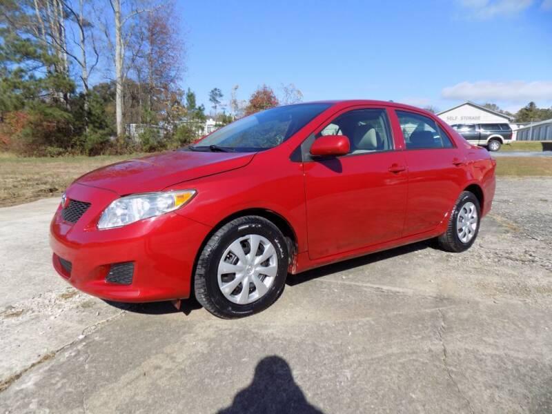2010 Toyota Corolla for sale at S.S. Motors LLC in Dallas GA