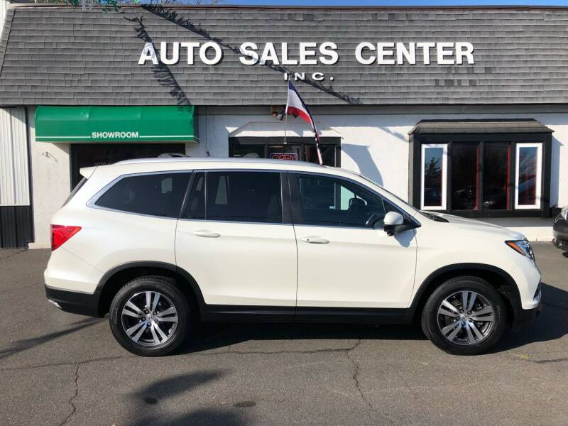 2016 Honda Pilot for sale at Auto Sales Center Inc in Holyoke MA