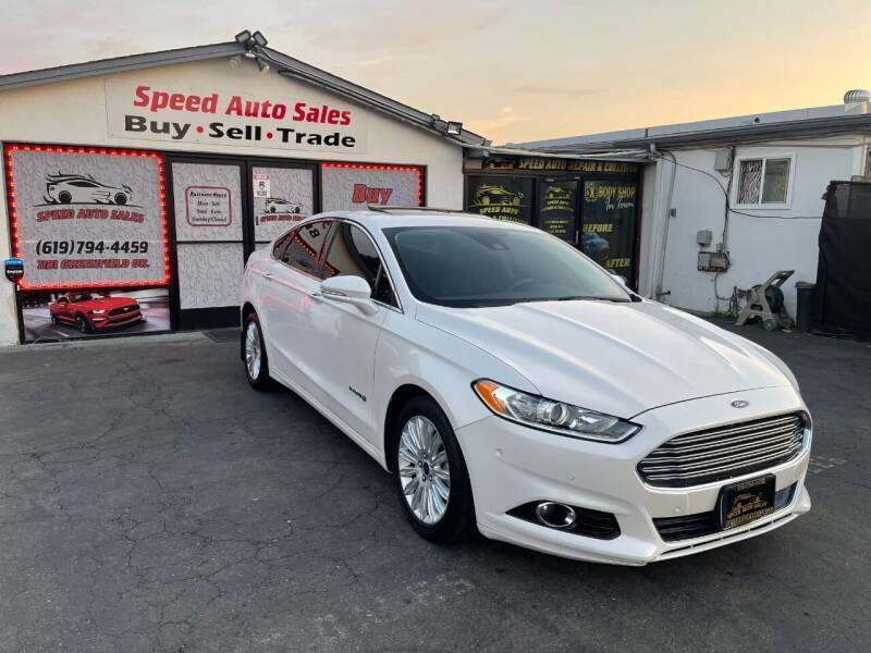 2015 Ford Fusion Hybrid for sale at Speed Auto Sales in El Cajon CA