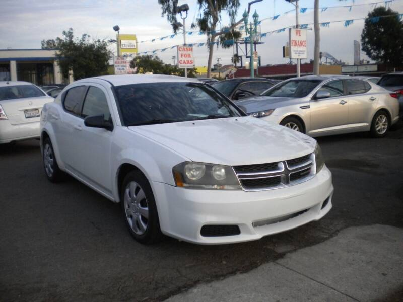 2013 Dodge Avenger for sale at AUTO SELLERS INC in San Diego CA