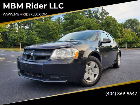 2008 Dodge Avenger for sale at MBM Rider LLC in Alpharetta GA