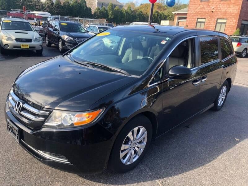 2014 Honda Odyssey for sale at KINGSTON AUTO SALES in Wakefield RI