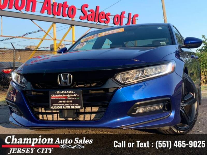 2018 Honda Accord for sale in Jersey City, NJ