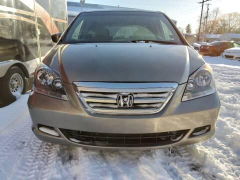 2007 Honda Odyssey for sale at Crispin Auto Sales in Urbana IL
