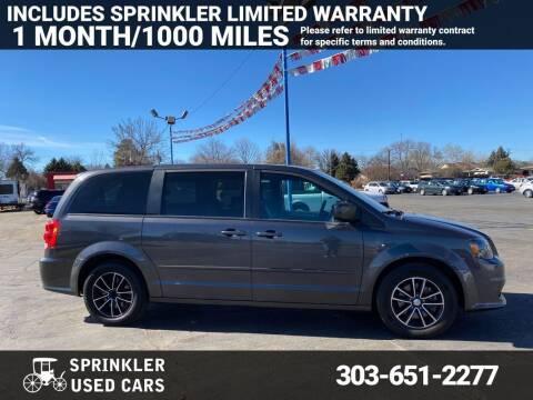 2017 Dodge Grand Caravan for sale at Sprinkler Used Cars in Longmont CO