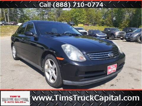 2003 Infiniti G35 for sale at TTC AUTO OUTLET/TIM'S TRUCK CAPITAL & AUTO SALES INC ANNEX in Epsom NH