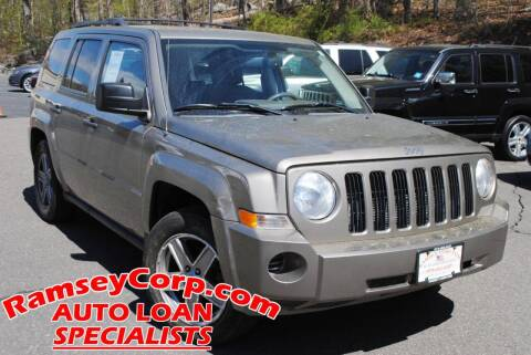 2008 Jeep Patriot for sale at Ramsey Corp. in West Milford NJ