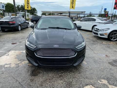 2014 Ford Fusion for sale at America Auto Wholesale Inc in Miami FL