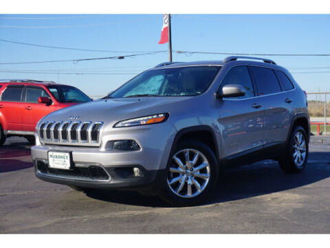 2016 Jeep Cherokee for sale at Maroney Auto Sales in Humble TX
