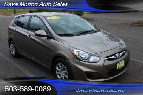 2012 Hyundai Accent for sale at Dave Morton Auto Sales in Salem OR