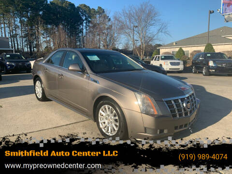 2012 Cadillac CTS for sale at Smithfield Auto Center LLC in Smithfield NC