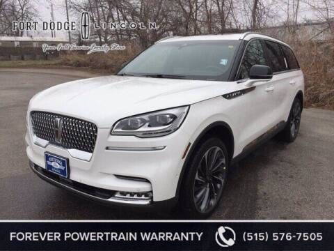 2021 Lincoln Aviator for sale at Fort Dodge Ford Lincoln Toyota in Fort Dodge IA