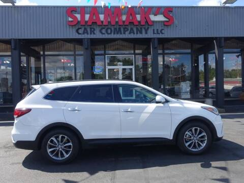 2017 Hyundai Santa Fe for sale at Siamak's Car Company llc in Salem OR