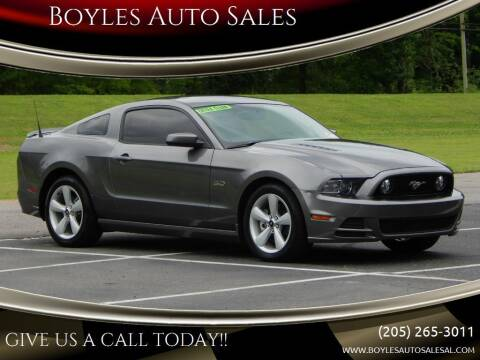 2014 Ford Mustang for sale at Boyles Auto Sales in Jasper AL