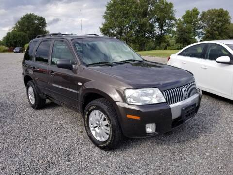 2007 Mercury Mariner for sale at Ridgeway's Auto Sales - Buy Here Pay Here in West Frankfort IL
