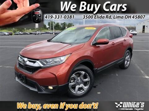 2018 Honda CR-V for sale at White's Honda Toyota of Lima in Lima OH