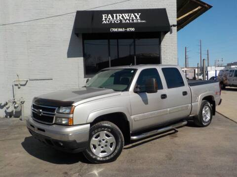2006 Chevrolet Silverado 1500 for sale at FAIRWAY AUTO SALES, INC. in Melrose Park IL