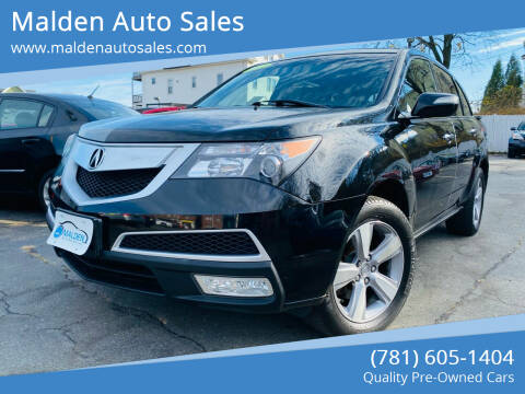 2012 Acura MDX for sale at Malden Auto Sales in Malden MA