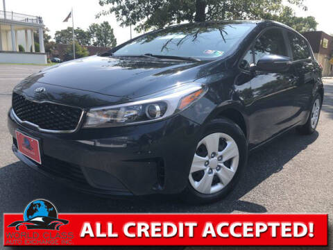 2017 Kia Forte5 for sale at World Class Auto Exchange in Lansdowne PA