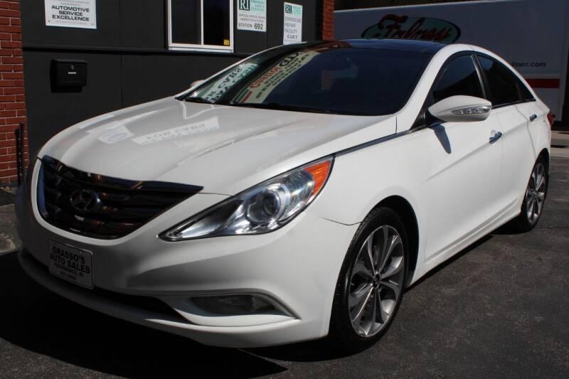 2013 Hyundai Sonata for sale at Grasso's Auto Sales in Providence RI