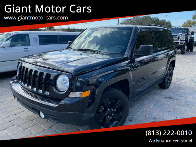 2015 Jeep Patriot for sale at Giant Motor Cars in Tampa FL
