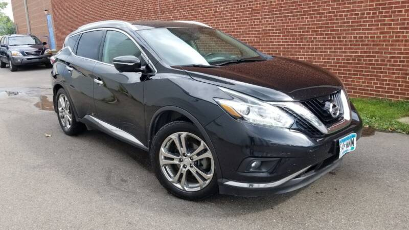 2015 Nissan Murano for sale at Minnesota Auto Sales in Golden Valley MN