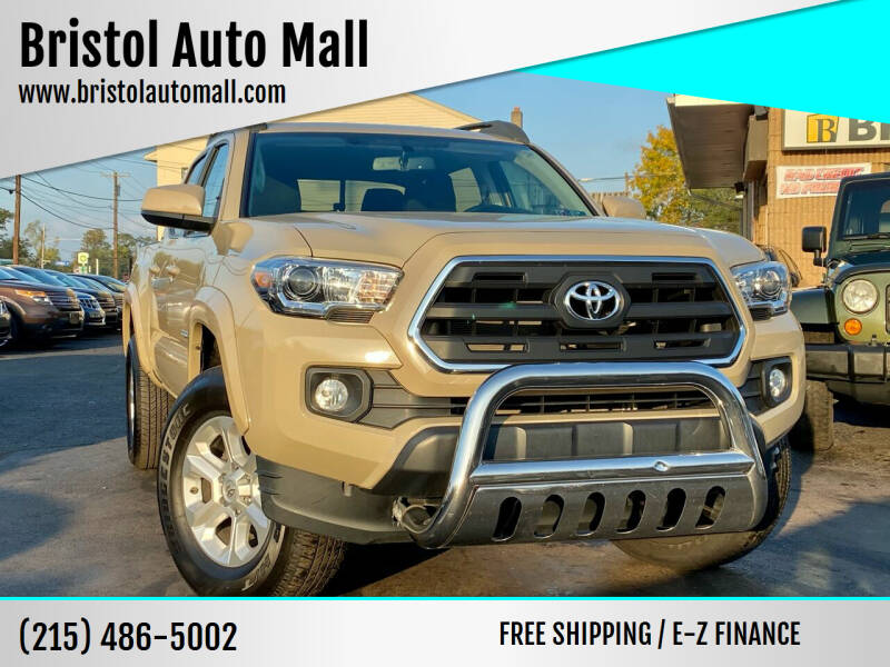 2016 Toyota Tacoma for sale at Bristol Auto Mall in Levittown PA