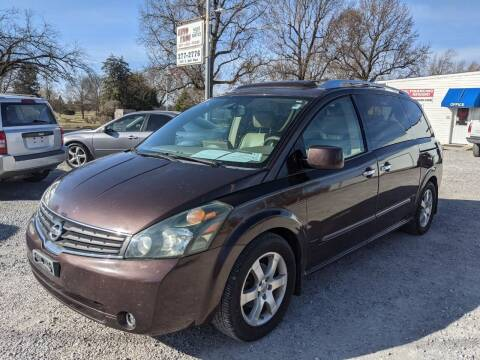 2007 Nissan Quest for sale at AUTO PROS SALES AND SERVICE in Belleville IL