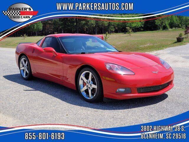 2008 Chevrolet Corvette for sale at Parker's Used Cars in Blenheim SC