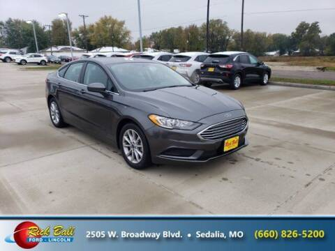2017 Ford Fusion for sale at RICK BALL FORD in Sedalia MO