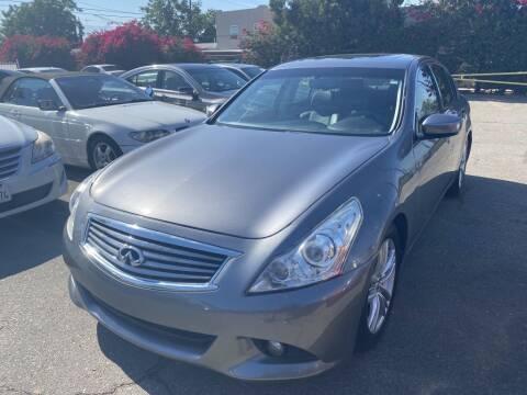 2011 Infiniti G25 Sedan for sale at AutoHaus Loma Linda in Loma Linda CA