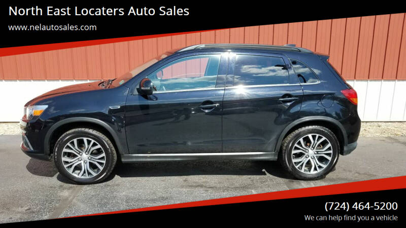 2017 Mitsubishi Outlander Sport for sale at North East Locaters Auto Sales in Indiana PA