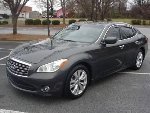 2011 Infiniti M56 for sale at Uniworld Auto Sales LLC. in Greensboro NC