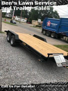 2020 Doolittle 18' Car Hauler(16'+2')CF84187K for sale at Ben's Lawn Service and Trailer Sales in Benton IL