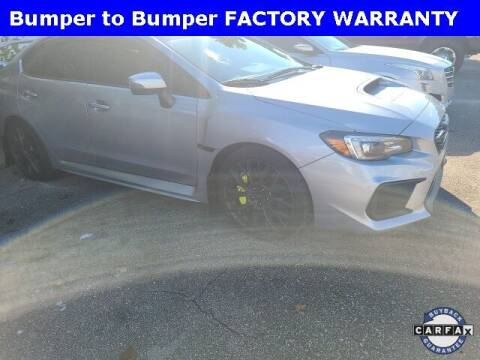 2019 Subaru WRX for sale at PHIL SMITH AUTOMOTIVE GROUP - Tallahassee Ford Lincoln in Tallahassee FL