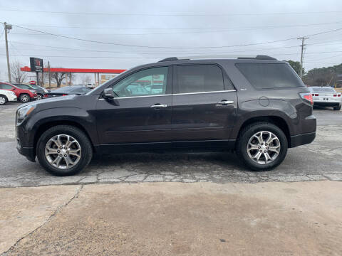 2014 GMC Acadia for sale at Smooth Solutions 2 LLC in Springdale AR