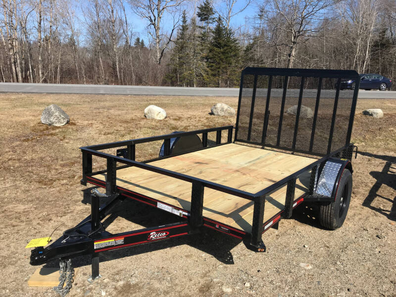2021 zRettig 6x10Utility for sale at Greg's Auto Sales in Searsport ME